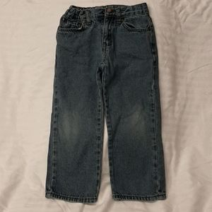 Open trail toddler boys jeans 4/5 adjustable